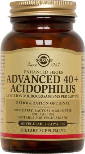 Advanced 40+ Acidophilus Vegetable Capsules