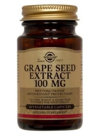 Grape Seed Extract 100 mg Vegetable Capsules