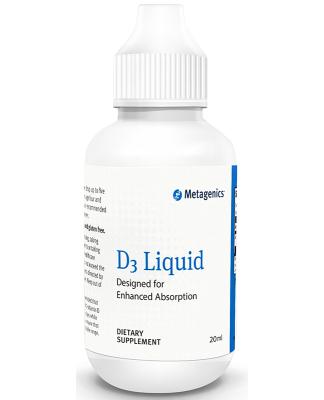 Metagenics Vitamin D3 Liquid 20ml