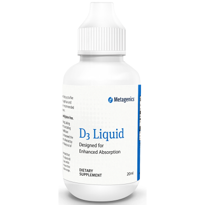 Metagenics Vitamin D3 Liquid 20ml