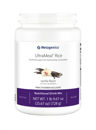 Metagenics Ultra Meal Rice Vanilla 728g