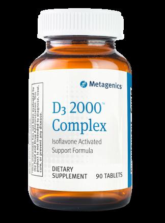 Metagenics Vitamin D3 2000IU Complex