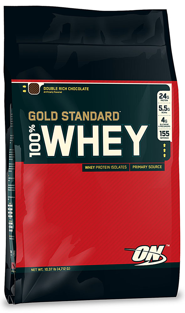 02986757d332 Optimum Nutrition Gold Standard 100% Whey Double Rich Chocolate 10LBS