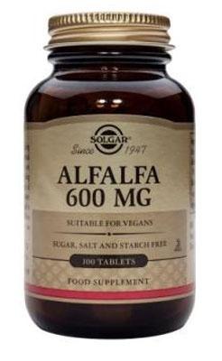 Solgar Alfalfa Tablets 600 mg 100 Tablets