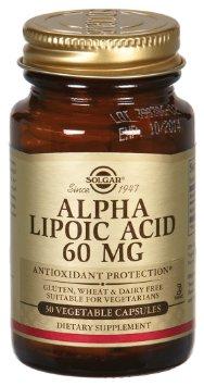 Solgar Alpha Lipoic Acid 60mg 30 capsules