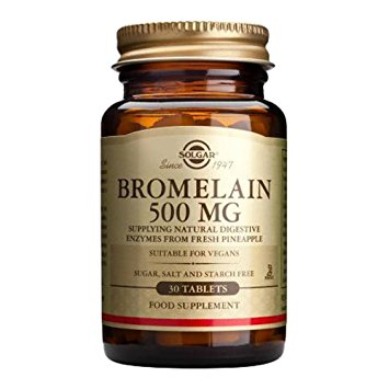 Solgar Bromelain 500 mg Tablets