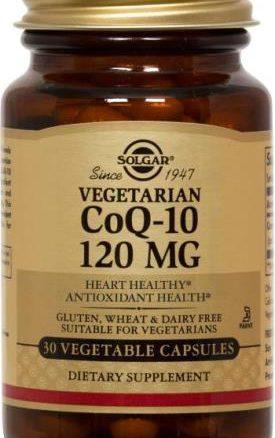 Solgar CoQ-10 120 mg Vegetable Capsules
