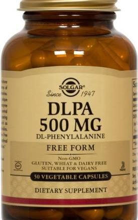 Solgar DLPA 500 mg Vegetable Capsules