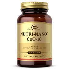 Nutri-Nano™ CoQ-10 3-1x Softgels-Pack of 50