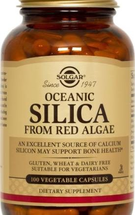 Solgar Oceanic Silica Vegetable Capsules