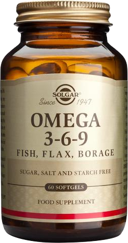 Solgar Omega 3 6 9 60 Softgels