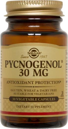 Solgar Pycnogenol® 30 mg Vegetable Capsules