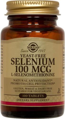 Solgar Yeast-Free Selenium 100 mcg Tablets