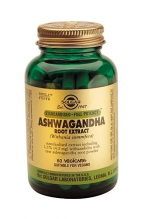 Solgar Ashwagandha root extract 60 Vegicaps