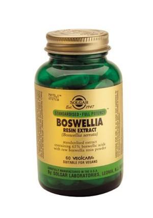 Solgar Boswellia Resin Extract Vegetable Capsules