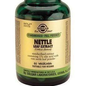Solgar Nettle Leaf Extract Vegetable Capsules