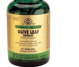 Solgar Olive Leaf Extract Vegetable Capsules