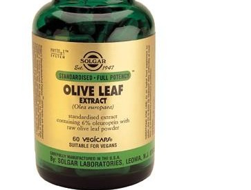 Solgar Olive Leaf Extract Vegetable Capsules
