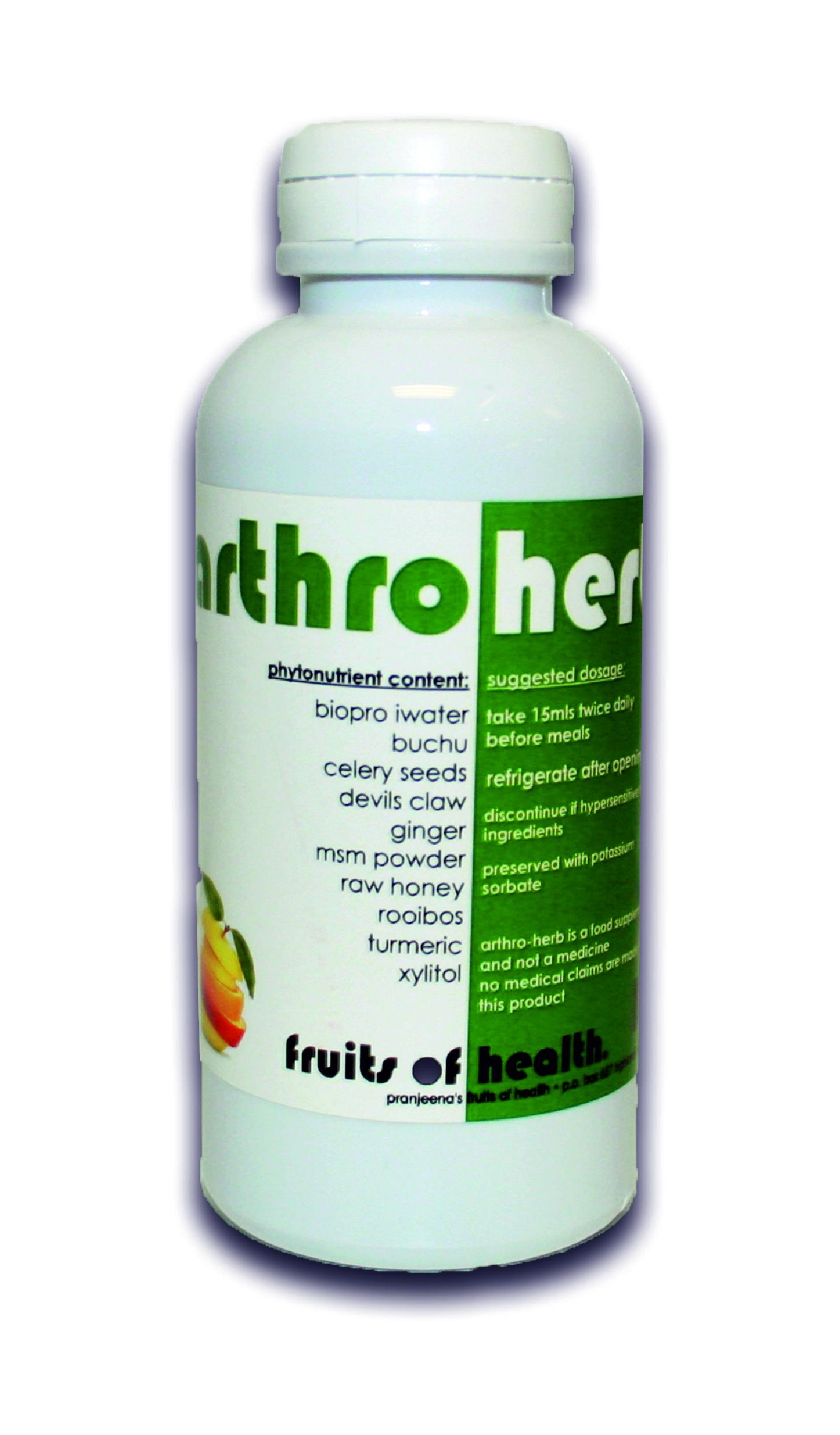 Arthroherb tonic