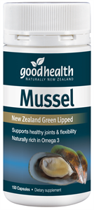 Good Health Green Lipped Mussel