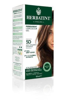 Herbatint Hair Colour 5D Light Golden Chestnut