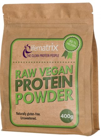 Life Matrix Raw Vegan Protein Powder 400g