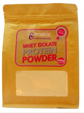 Life Matrix Whey Isolate Protein Powder 400g