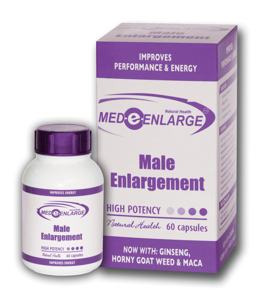 Med e Enlarge 60 caps - Online Vitamins & Natural Medication Call 0117869539