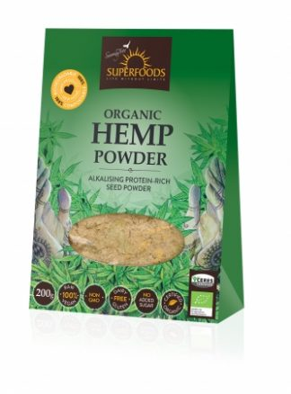 Superfoods Organic Hemp Protein Powder