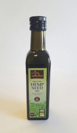 Feel Healthy Superfoods Organic Hemp Seed oil