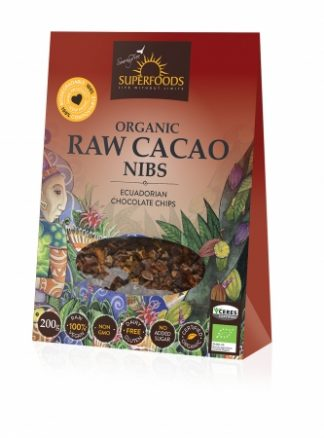 Superfoods Organic Raw Cacao Nibs