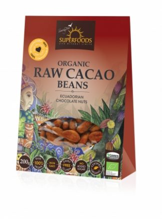 Feel Healthy Superfoods Raw Cacao Beans