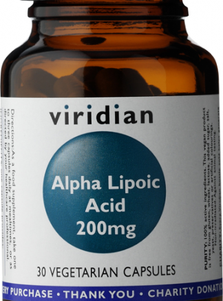 Viridian Alpha Lipoic Acid 200mg