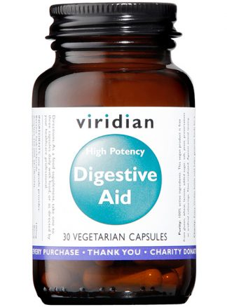Viridian High Potency Digestive Aid Veg 30 Caps