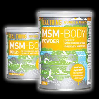 Feel Healthy The real thing MSM powder