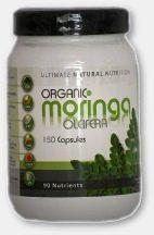 Organic Moringa 150 Capsules