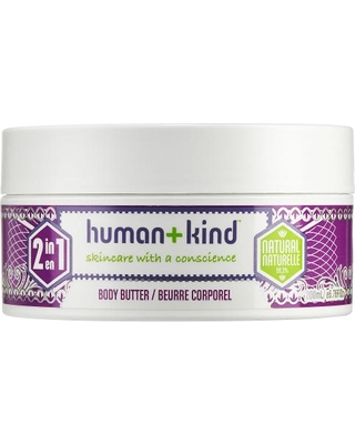 Human plus kind body butter