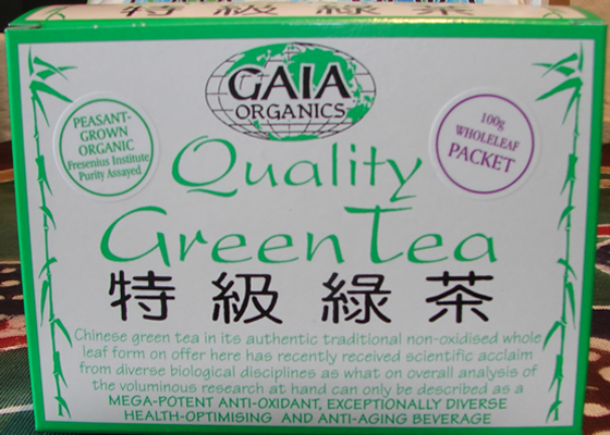 Gaia Organic Green Tea 100g