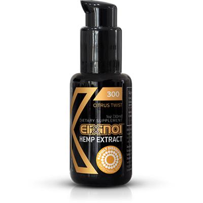 Feel Healthy Elixinol CBD Hemp Oil Liposomes 300mg Citrus Twist