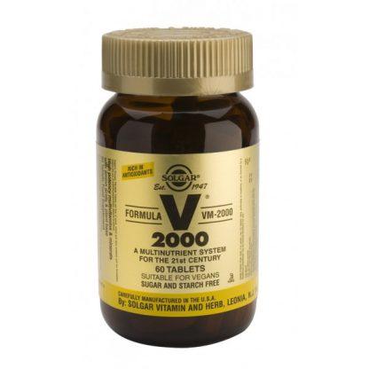 Feel Healthy Solgar V2000 60