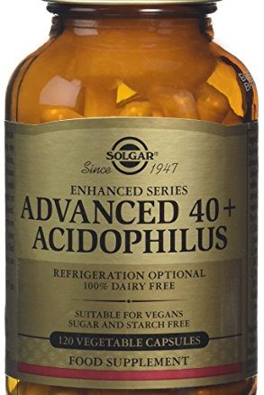 Feelhealthy Solgar Advanced 40+ Acidophilus plus 120 Vegicaps