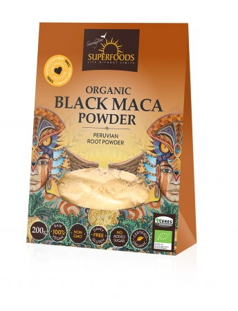 Feel Healthy Superfoods Organic Black Maca