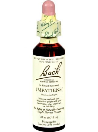 Bach Impatiens feelhealthy