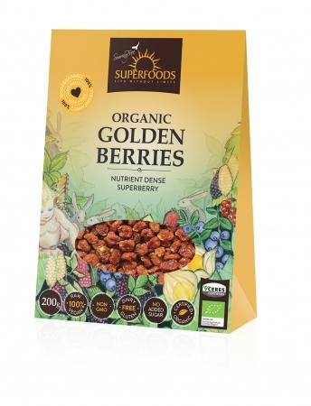 Feel Healthy Superfoods Organic Golden Incan Berries200g