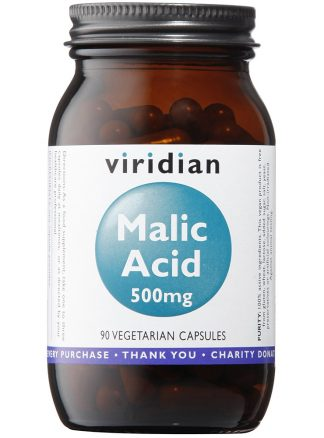Viridian Malic Acid 500mg 90 caps
