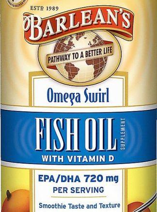 Feel Healthy Barleans Omega Swirl Fish Oil