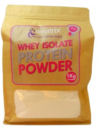 Life Matrix Whey Isolate Protein Powder 1kg