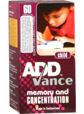 Addvance Child Memory and Concentration 60 capsules