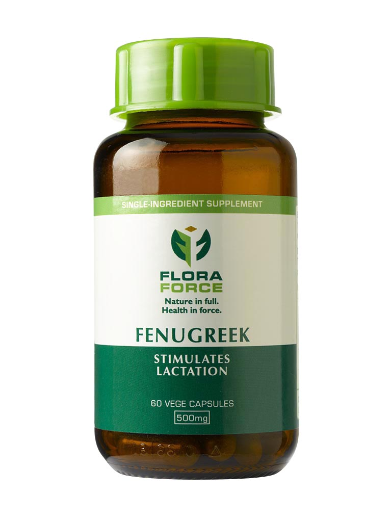 Flora Force Fenugreek 500mg 60 caps