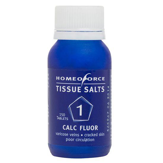 Homeoforce Tissue Salt 1 Calc Fluor